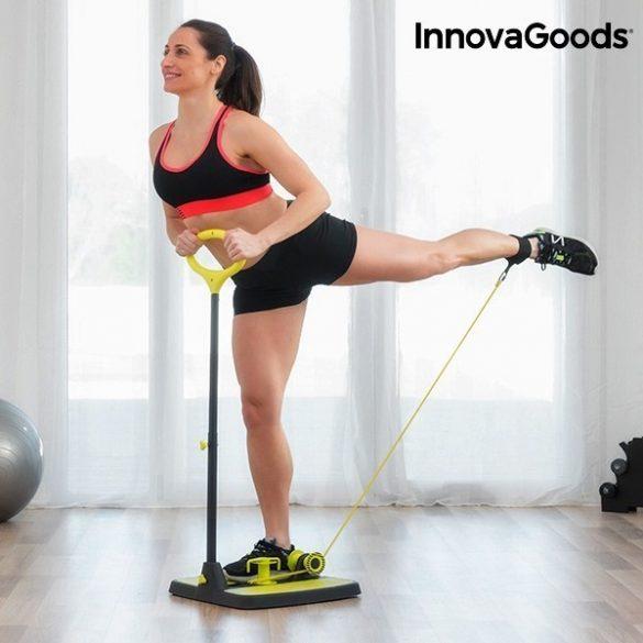 InnovaGoods Fitness Platform Fenékre és Lábra  Gyakorlati Útmutatóval