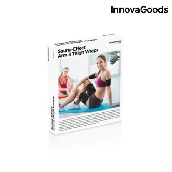 InnovaGoods Sport Szalagok Szauna Hatással Karra és Lábra (4 darab)