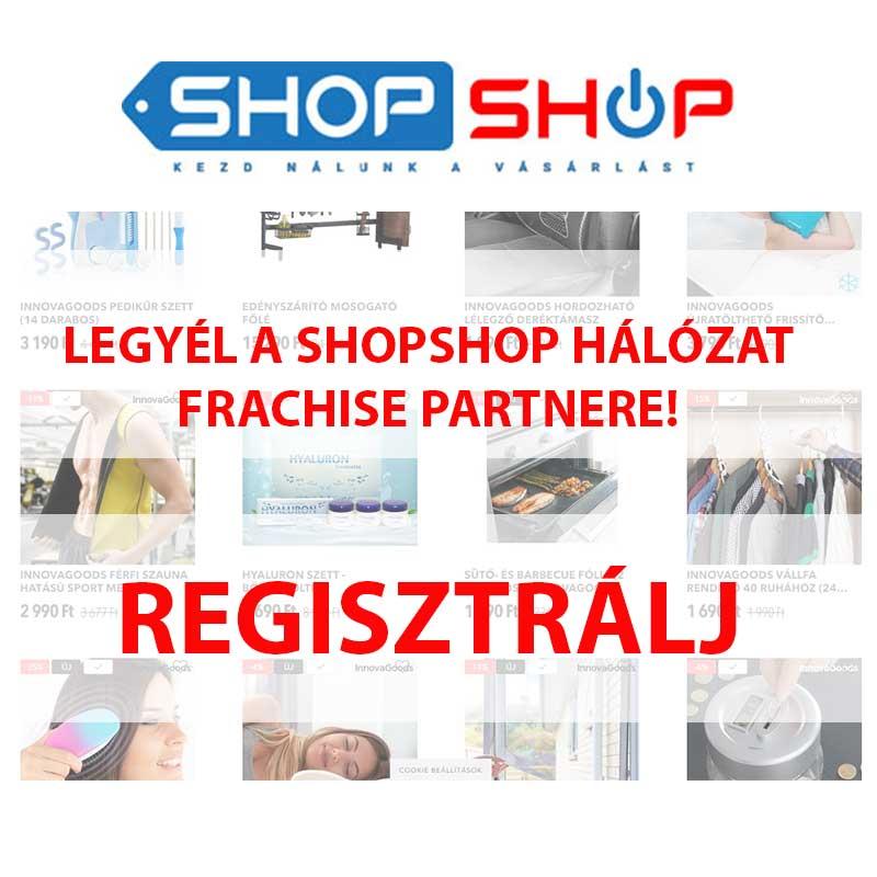 Shopshop Franchise partner jelentkezés